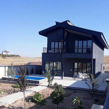 گروه معماری بام - پروژه ویلای شماره 117