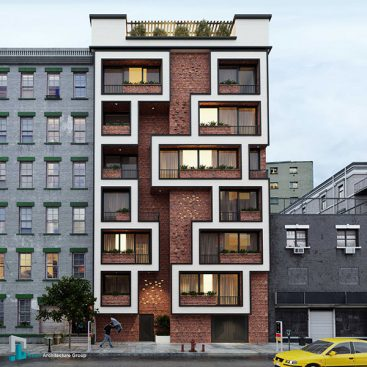 گروه معماری بام - پروژه مسکونی شیخ بهایی