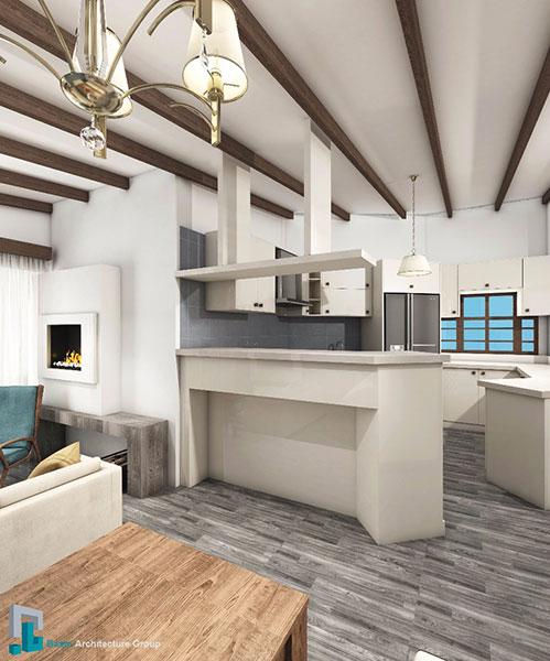 گروه معماری بام - پروژه آپارتمان دلکده