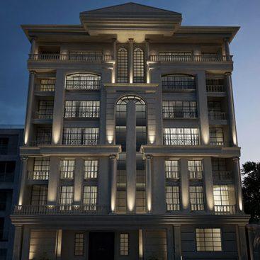 گروه معماری بام - پروژه اداری بلوار صبا