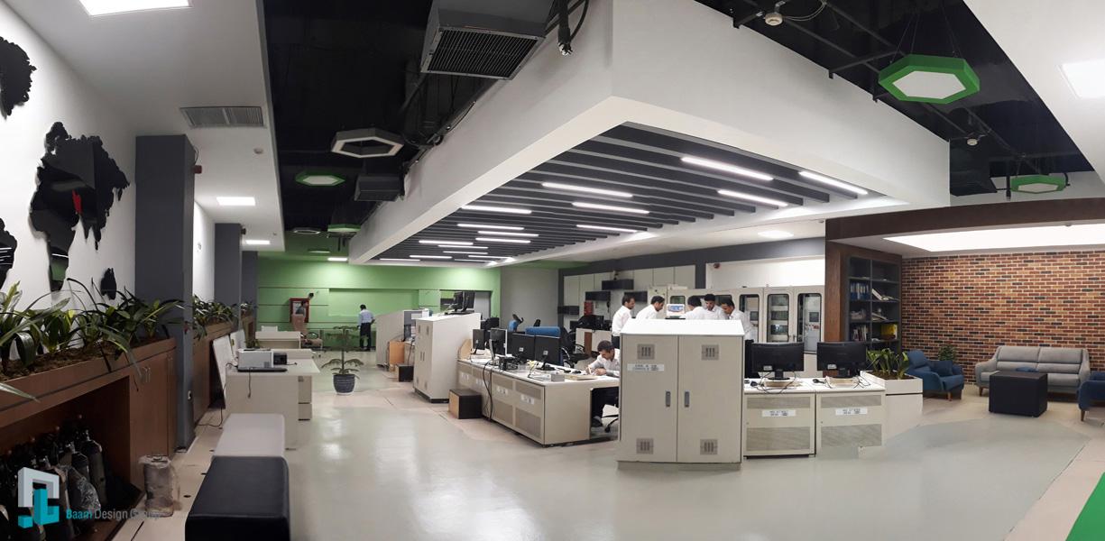گروه معماری بام - پروژه اتاق کنترل پردیس