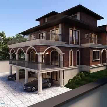 گروه معماری بام - ویلای بلوار ناهید (مشاء)