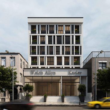 گروه معماری بام - ساختمان تهرانپارس