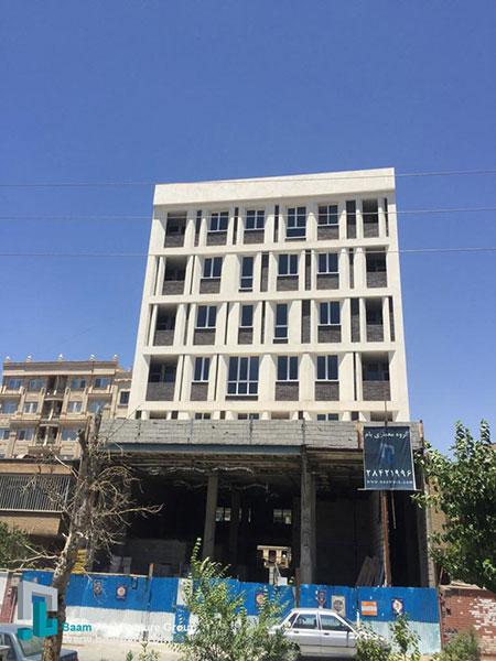 گروه معماری بام - پروژه ساختمان تهرانپارس