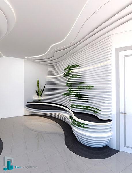 گروه معماری بام - پروژه مطب دندانپزشکی