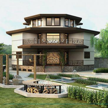 گروه معماری بام - پروژه ویلای گچسر