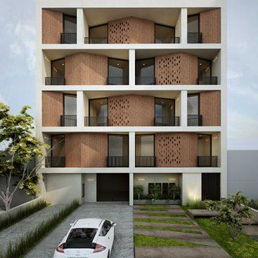 گروه معماری بام - پروژه مسکونی دیباجی