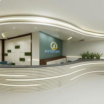 گروه معماری بام - پروژه کلینیک رادیو تراپی