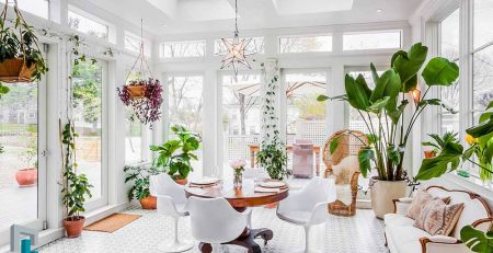 The effect of plants on decoration