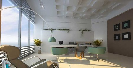 Effect of feng shui on office decoration