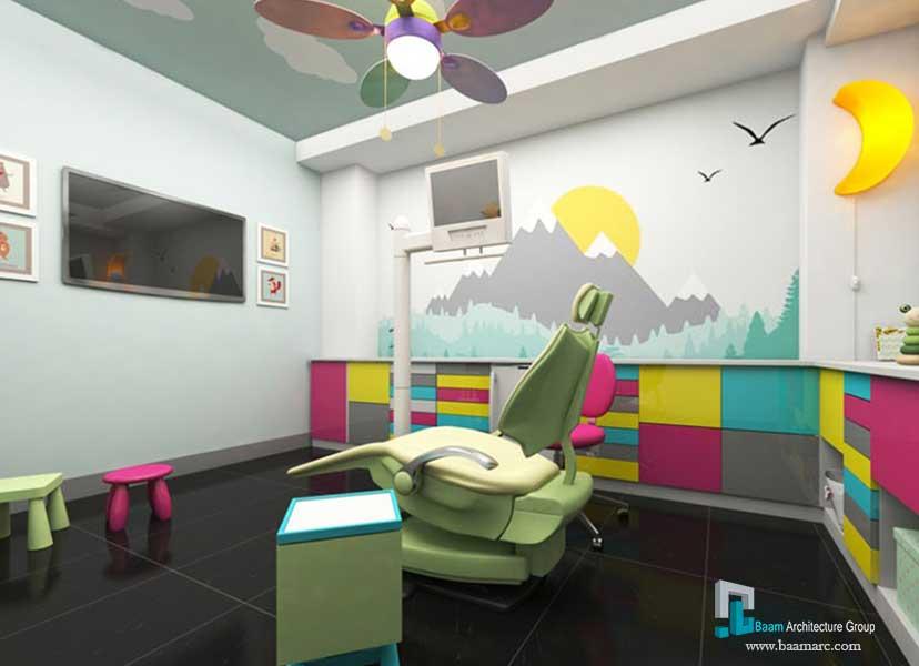 طراحی مطب دندانپزشکی آرتمیس