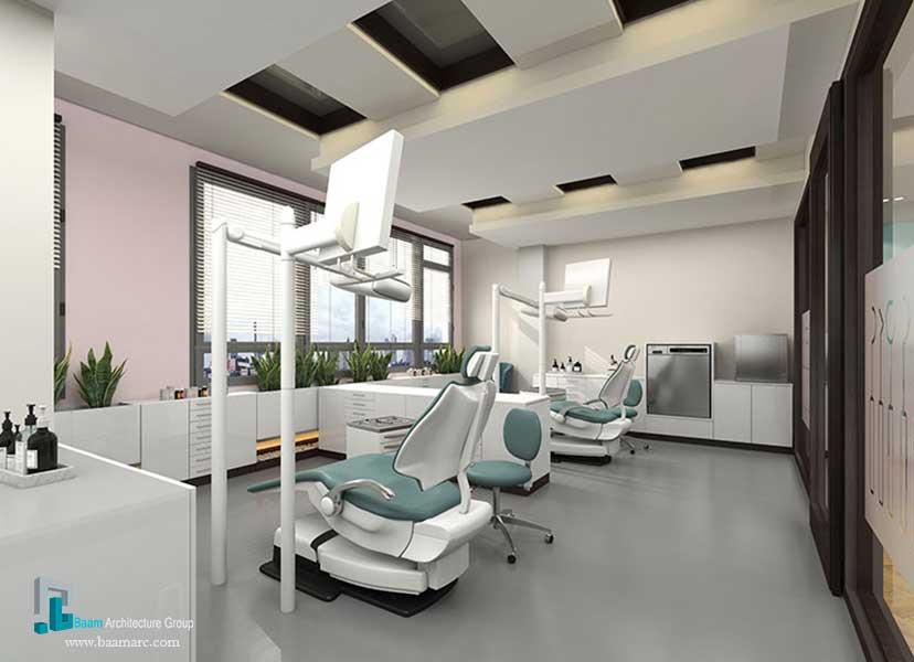 طراحی کلینیک دندانپزشکی