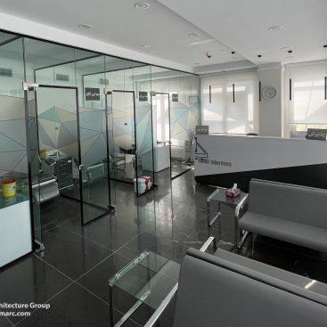 طراحی داخلی آزمایشگاه آرتمیس