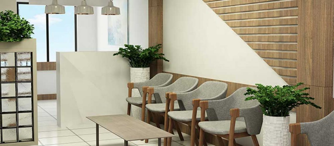 Details of the design of beauty clinics