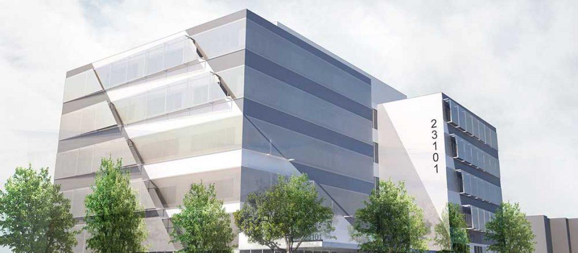 طراحی نمای ساختمان پزشکان