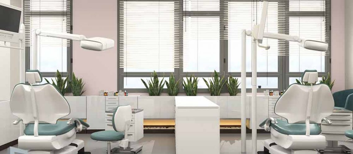 The effect of color on interior design Dental clinic